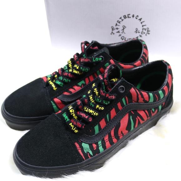 71e3af883df7 A Tribe Called Quest X Vans Shoes Collaboration